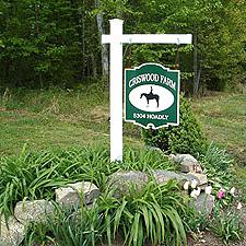 Criswood Farm Entrance Sign